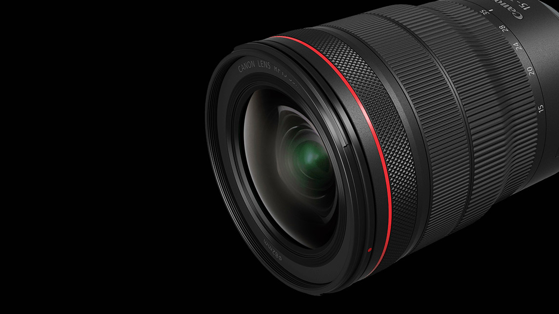 Canon unveils the 1st of its trinity RF F2.8L lenses for the EOS R System