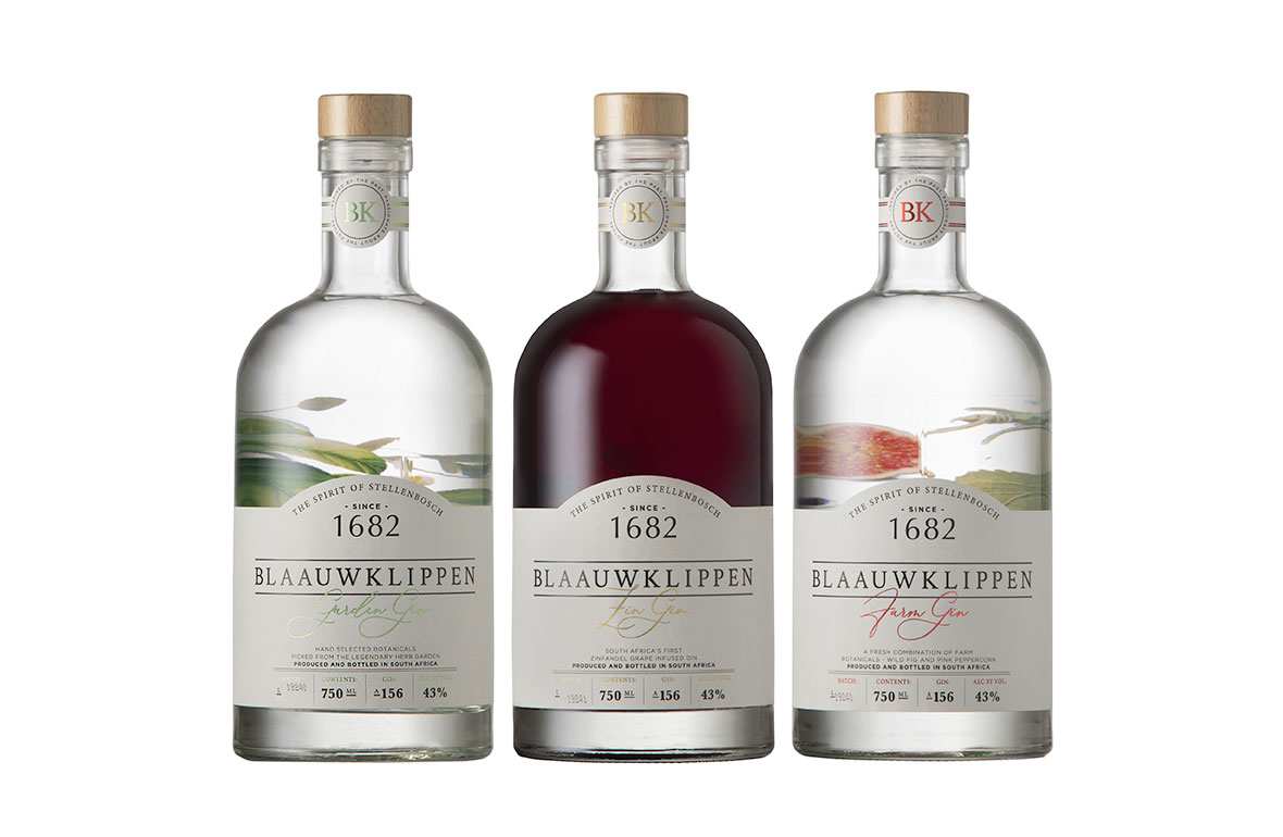 Blaauwklippen Launches new Signature Zinfandel Gin Range