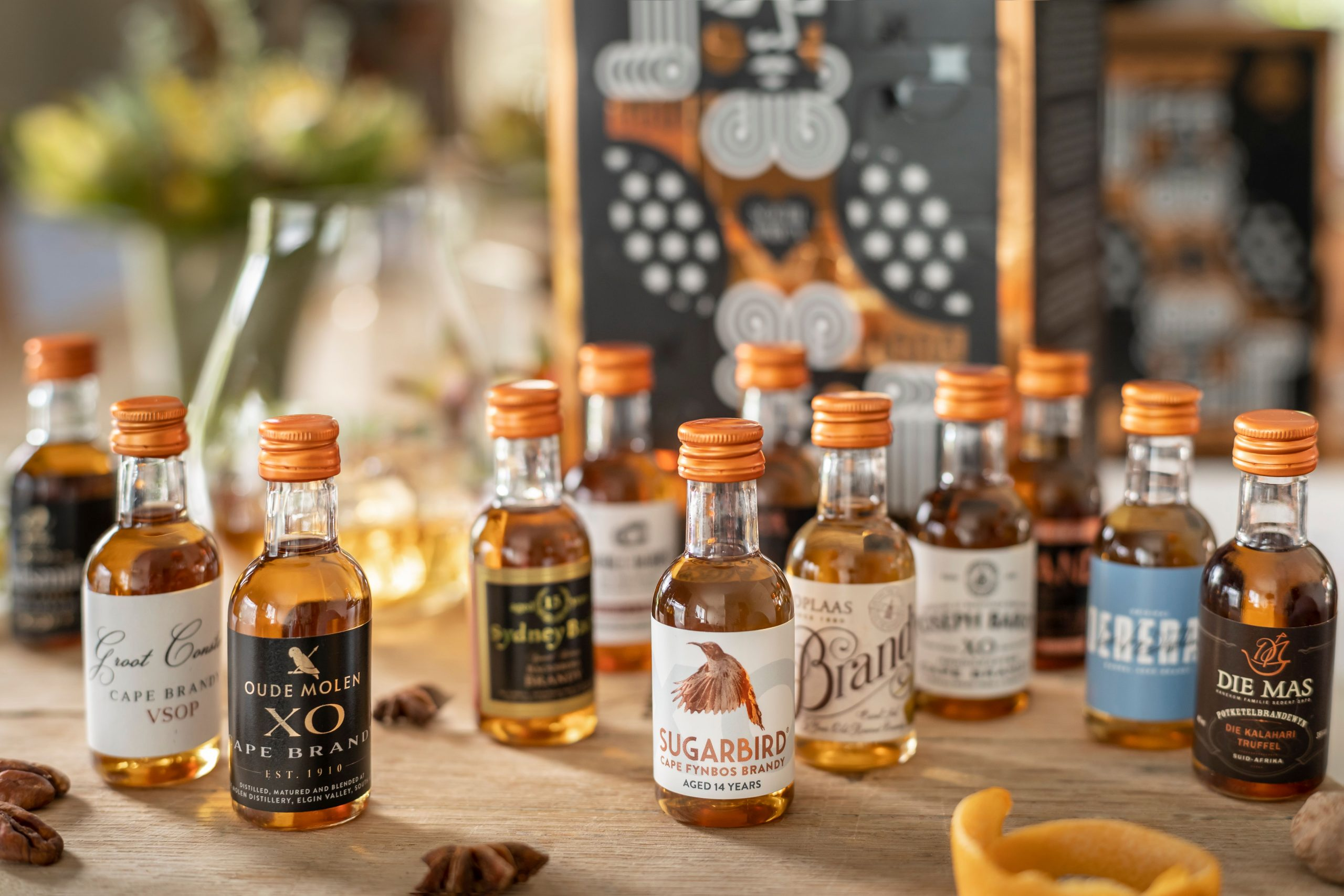 Sugarbird and Brandy Friends Showcase SA Distilling Heritage